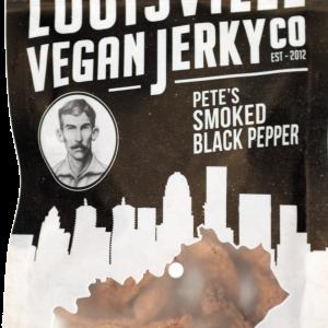 louisville smoked black pepper vegan jerky