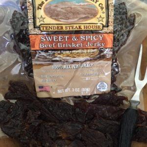 sweet & spicy beef brisket