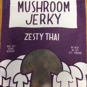 Pans zesty thai mushroom jerky