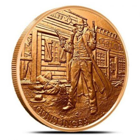 gunslinger copper round
